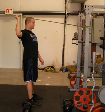 Resistance Band External Rotation Exercise Video Example