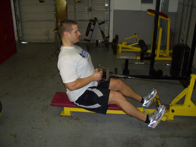 seated close grip cable row  Cable rows