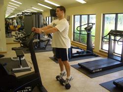 Standing Dumbbell Calf Raise Exercise
