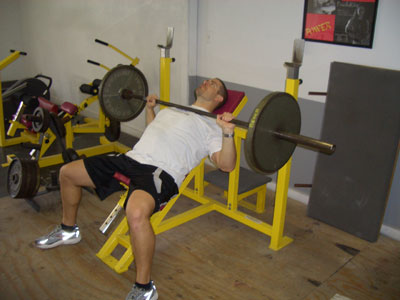 Incline Barbell Bench Press Exercise