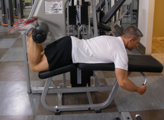 hamstring exercise machine