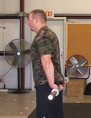Behind The Back Barbell Forearm Curls