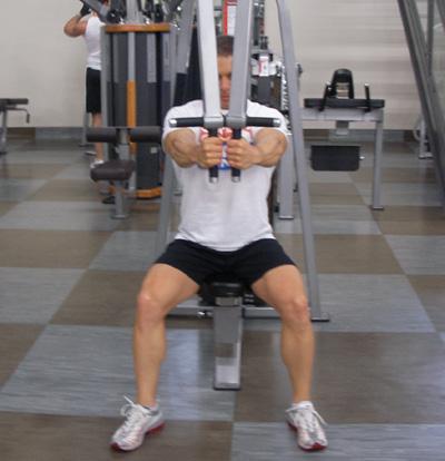 pec workout machine