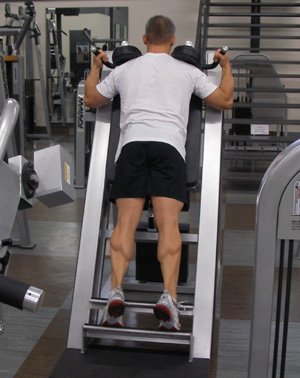 standing calf raise without machine