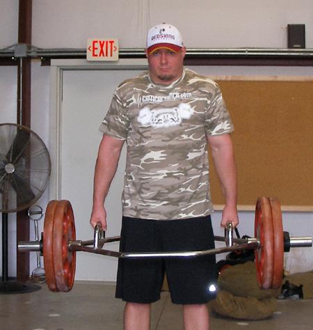 Trap Bar Shrugs on Weight Lifting Workout Chart