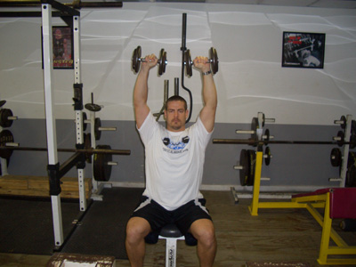Twisting Dumbbell Military Press Exercise Video