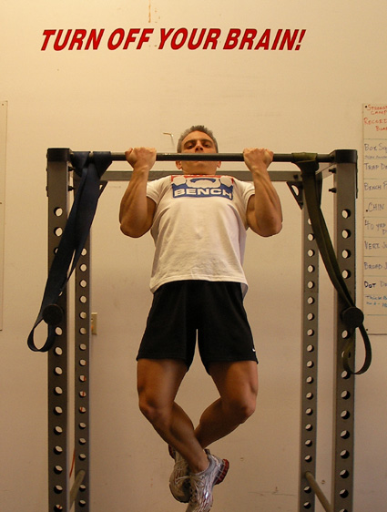 Underhand Narrow-Grip Chin-Ups Exercise Video Example