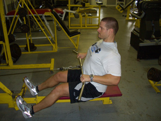 Wide Arm Cable Row Exercise | 325 x 244 jpeg 37kB