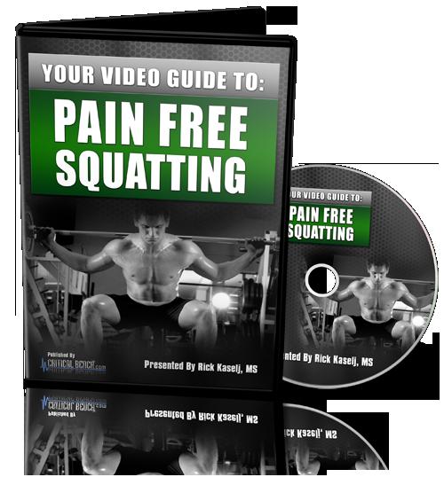 Pain Free Squatting