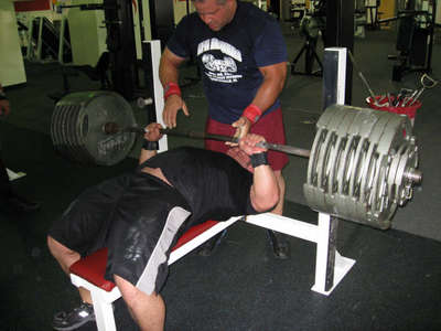 World Record Bench Press Jeremy Hoornstra