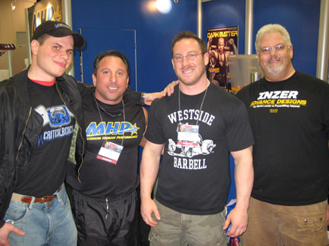 Ben Tatar, Joe Mazza, Jay Fry and Dean Bennett