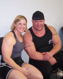 Robyn Blakenship and Joey Smith