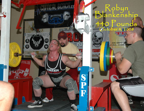 Robyn Blakenship - VA Powerlifter & Firefighter competiting in the SPF