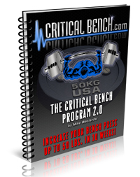 Critical Bench Program 2.0