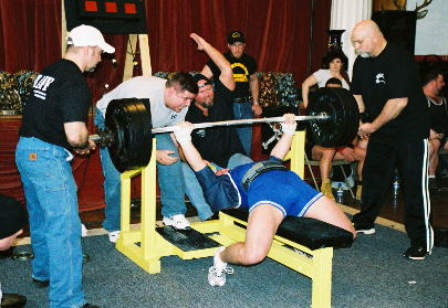 Bench Press Maniac Craig Schmalz