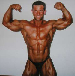 Jeremy Hoornstra in his Bodybuilding Days