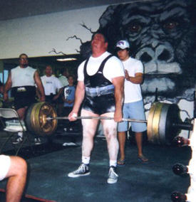 Powerlifter Ken Ufford