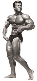 Bodybuilder Larry Scott