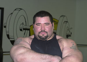 Powerlifter Mike Wolfe