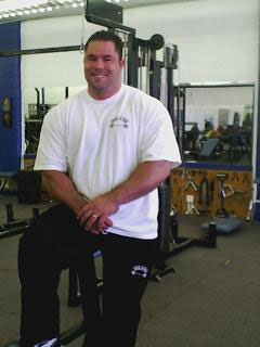 Bench Press Monster Ryan Kennelly