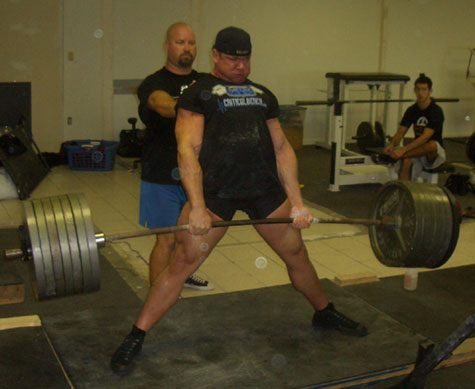 Mike Schwanke Pulling Sumo Almost Raw