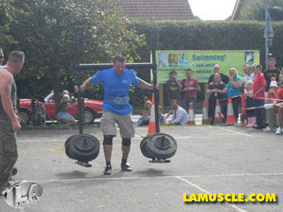 Interview with Strongman Simon Cowdrey