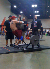 Interview With Strongman Steve Barkley
