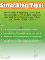 Stretching Tips