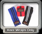 Knee Wraps Only Fitness