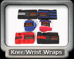 Knee Wrist Wraps Only Fitness
