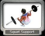Squat Bar Support and Pads