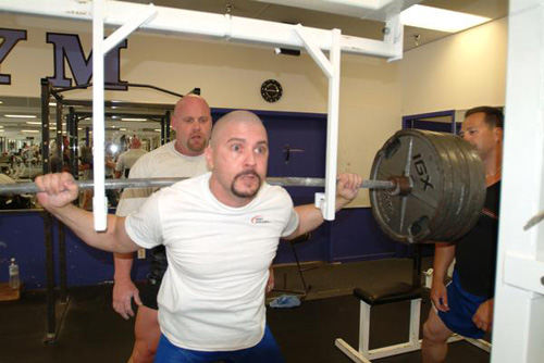 Aguirre Training the Squat in Ft Myers