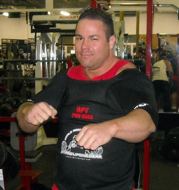 APT APEX bench press shirt - Ryan Kennelly