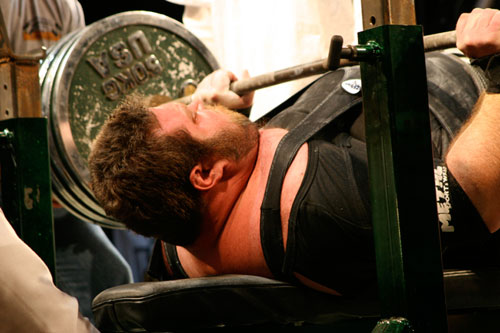 Using A Band Tension While Bench Pressing
