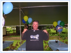 barry melrose and his Critical Bench t-shirt