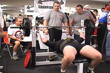 Bench Pressing for Big Hamstrings....hahahaa