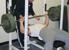 bench press strength