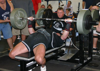 Bench Press Triples