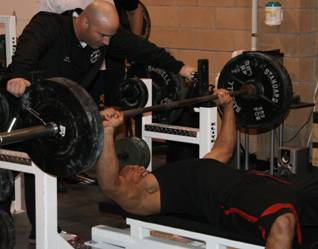 bench press combine 225 test for reps