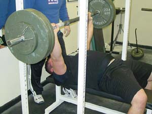 bench press combine test