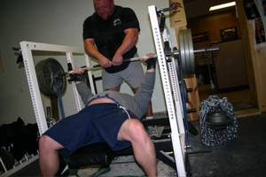bench press chains