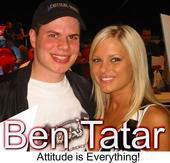Ben Tatar and a chick