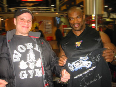 Ben and Ronnie Coleman