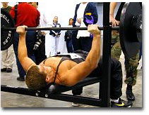 How much can  you bench press?