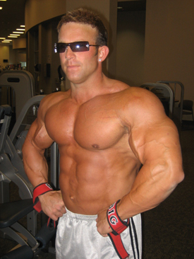 Bodybuilder Derek Anthony