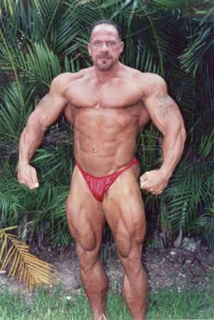 Bodybuilder Don Youngblood