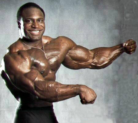 Bodybuilder Lee Haney