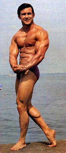 Bodybuilder Anibal Lopez