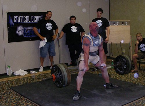 The Bouncing Stiff-Legged Deadlift
