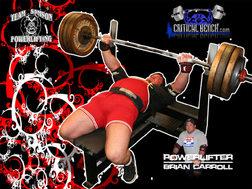 Interview With Powerlifter Brian Carroll